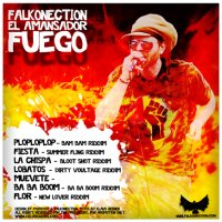 Falkonection el Amansador FUEGO EP Cover back